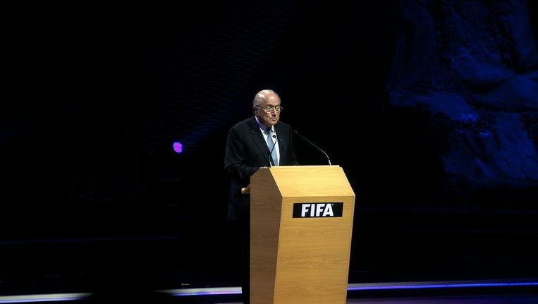 FIFA-voorzitter Sepp Blatter Beeld epa