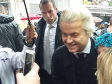 Honderden mensen op de been in Breda voor komst Geert Wilders