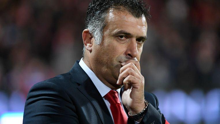 KVK-coach Anastasiou.