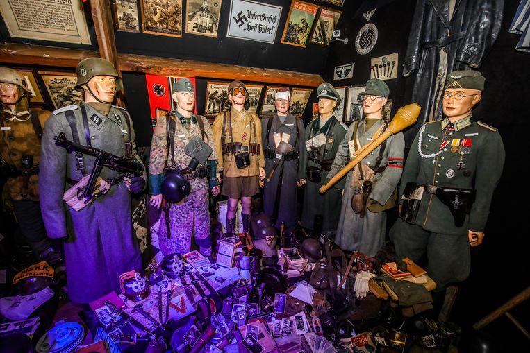 Uniformen van de nazi's.