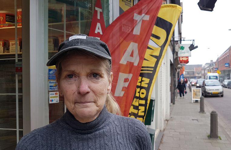 Wilma Eerdhuijzen betrapte de daders op heterdaad.