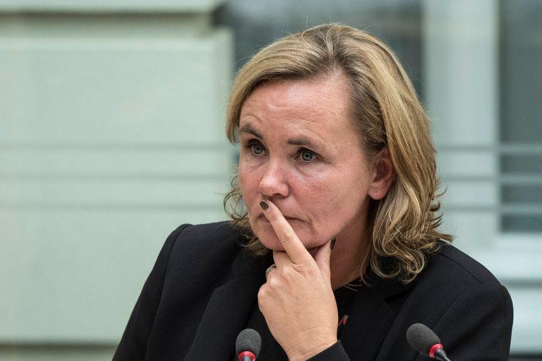 Vlaams minister van Ambtenarenzaken Liesbeth Homans (N-VA)