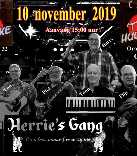 Herrie's Gang speelt in café 't Huukske in Goirle