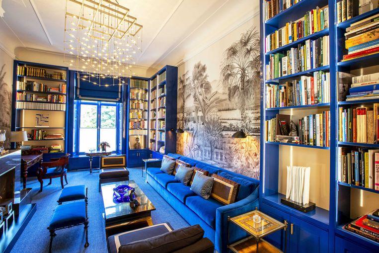 De bibliotheek in Paleis Huis ten Bosch.  Beeld ANP