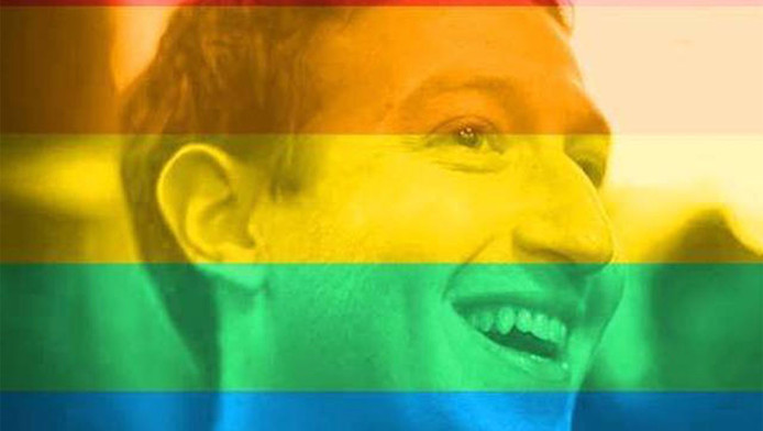 Ook Facebookbaas Mark Zuckerberg veranderde zijn profielfoto