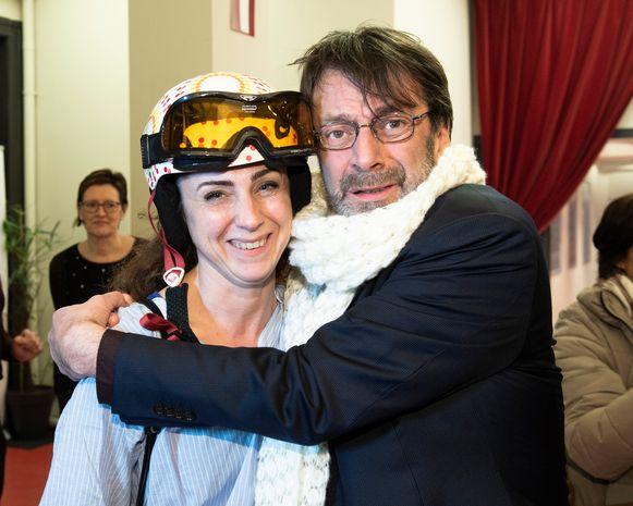 Karel De Ruwe en zijn vrouw Maya Moreel kunnen zo de piste op.