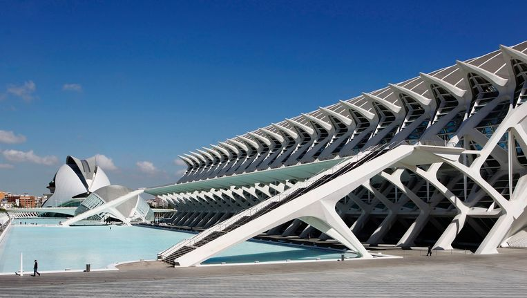 City of Arts and Sciences in Valencia Beeld REUTERS