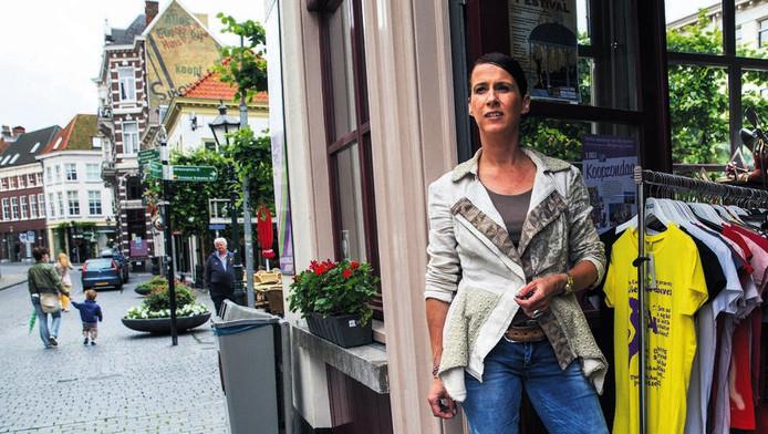 Mireille Hoetelmans: 'De gemeente denkt niet mee met ondernemers, juist nu we in crisistijd creatief moeten zijn.'