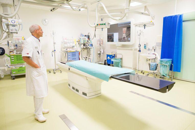 Een traumakamer in de nieuwe Spoedeisende Hulp Beeld Elmer van der Marel