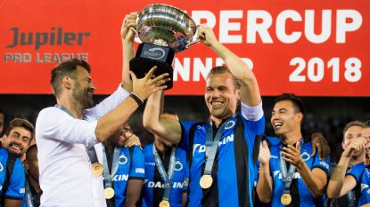 Vanaken leidt Club Brugge naar Supercup en eerste prijs ten koste van het Standard van Preud'homme