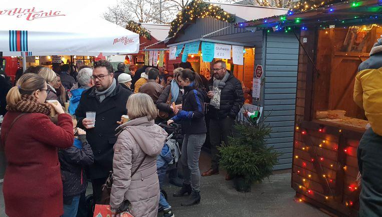 Kerstmarkt in Mechelen.