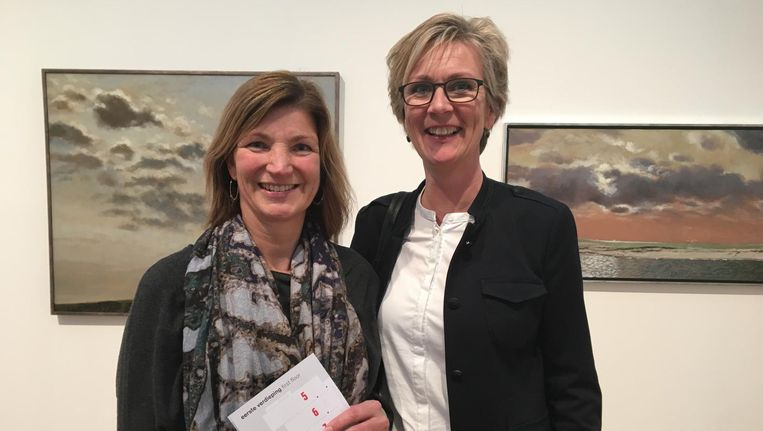 Anita van Munster en Jeanet Kuitems Beeld