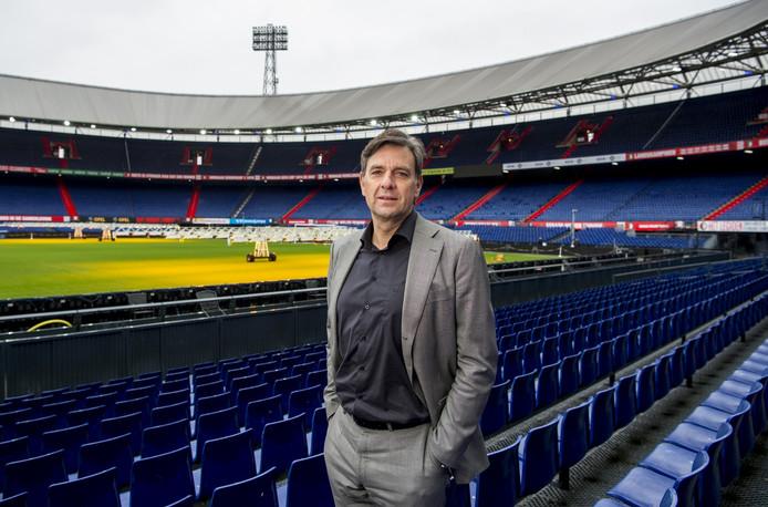 Jan van Merwijk, stadiondirecteur van De Kuip.