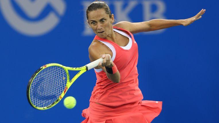 Roberta Vinci verloor één maand geleden de finale van de US Open tegen haar landgenote Pennetta