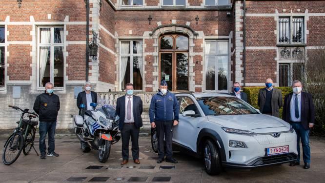 """Politiezone stelt nieuwe elektrische voertuigen voor: """"Ecologische voetafdruk verlagen"""""""
