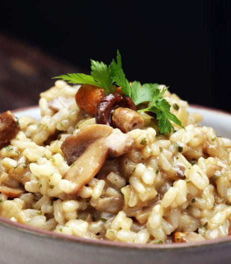 Hoe maak je goed gegaarde risotto?