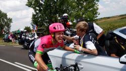 """Rode lantaarn Craddock schrijft Tour-geschiedenis na zijn hachelijke tocht: """"Nu tijd voor een pint"""""""
