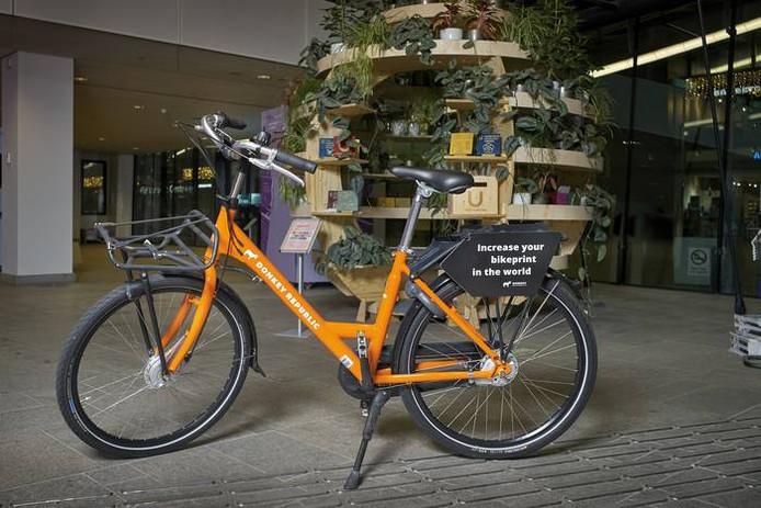 Zo'n 700 deelfietsen van het Deense bedrijf Donkey Republic komen volgend jaar naar Utrecht