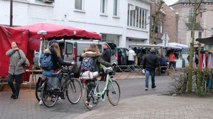 Omleiding voor fietsers moet markt veiliger maken
