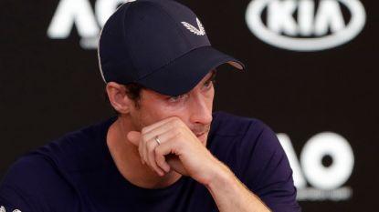 Onze man in Melbourne ziet journalisten de zaal uit strompelen bij persbabbel Andy Murray