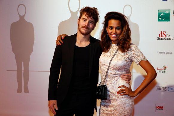 Tatyana Beloy met haar partner Konrad
