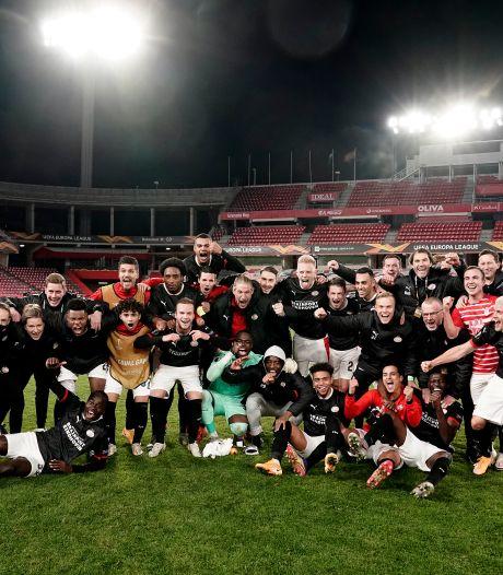 PSV viert bescheiden feestje na winst in Granada en overwintering in Europa League