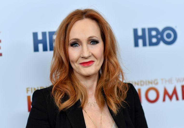 Harry Potter-auteur J.K. Rowling. Beeld Hollandse Hoogte / AFP