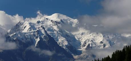 Drie lichamen duiken na 20 jaar op uit gletsjerijs Mont Blanc