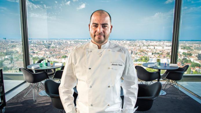 Alexandre Dionisio, chef de la Villa in the Sky**.