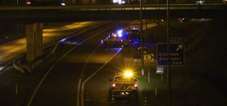 Afslag Enschede-Zuid afgesloten na ongeluk op A35