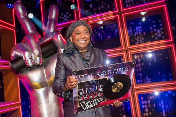 Jimi Bellmartin won dit jaar de finale van The Voice Senior.
