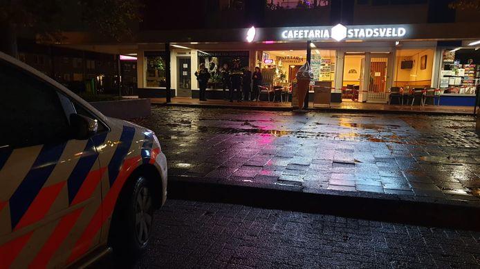 Cafetaria aan de Zweringweg in Enschede is overvallen