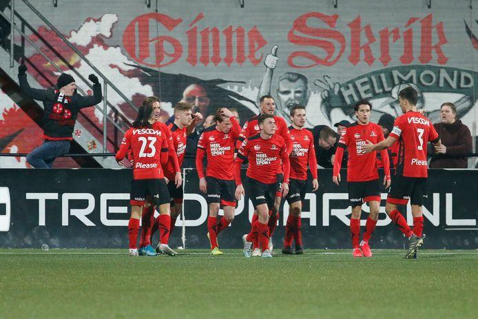Helmond Sport volgt de richtlijnen van de KNVB en traint voorlopig niet in het eigen SolarUnie Stadion.