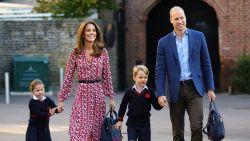 Coronavirus komt dichtbij Britse royals: klasgenootjes prins George en prinses Charlotte in quarantaine