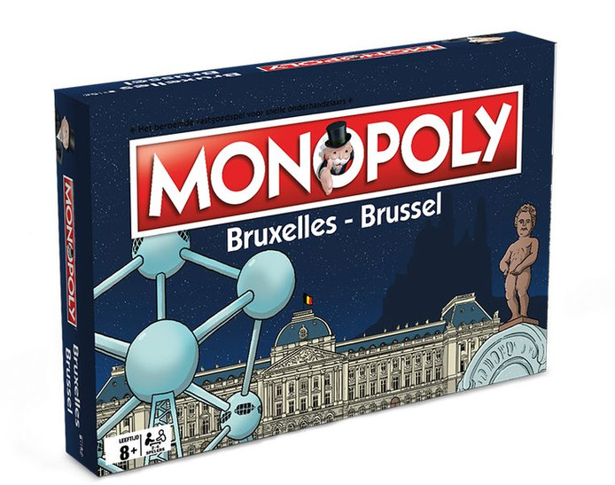 De blote versie van de Brussel-editie.