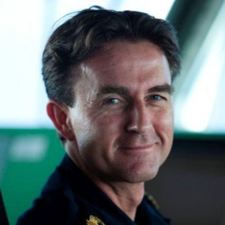 Commandant Walter Hansen Beeld Privé-archief