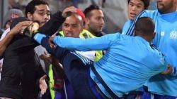 Marseille schorst trappende Evra met onmiddellijke ingang