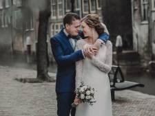 Mark en Elise zijn gewoon getrouwd in de coronacrisis: 'Samenzijn vinden we belangrijker'