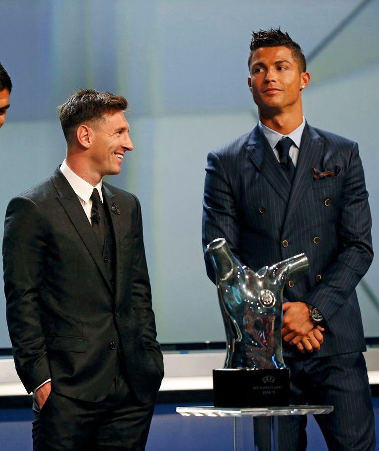Lionel Messi en Cristiano Ronaldo