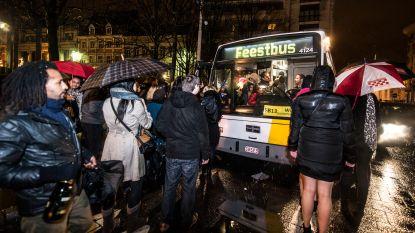 Opnieuw feestbussen van De Lijn tijdens oudejaarsnacht, maar wel onduidelijkheid door staking van het ACOD
