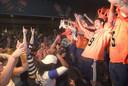 Oranje Zwart viert kampioenschap.