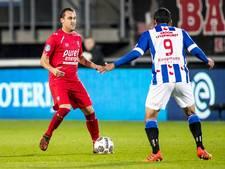 FC Twente met Hooiveld en Liendl tegen AZ