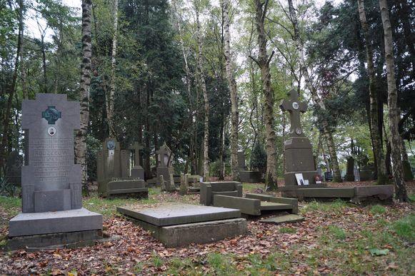 De oude begraafplaats op het Sint-Pietersveld.