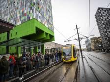 De kans dat je op de Uithoflijn voor niets op de tram staat te wachten, is vier keer zo groot als de bedoeling