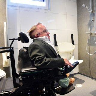 Ook voor gehandicapte Zwarte Cross-bezoeker is het nu ongehinderd høken