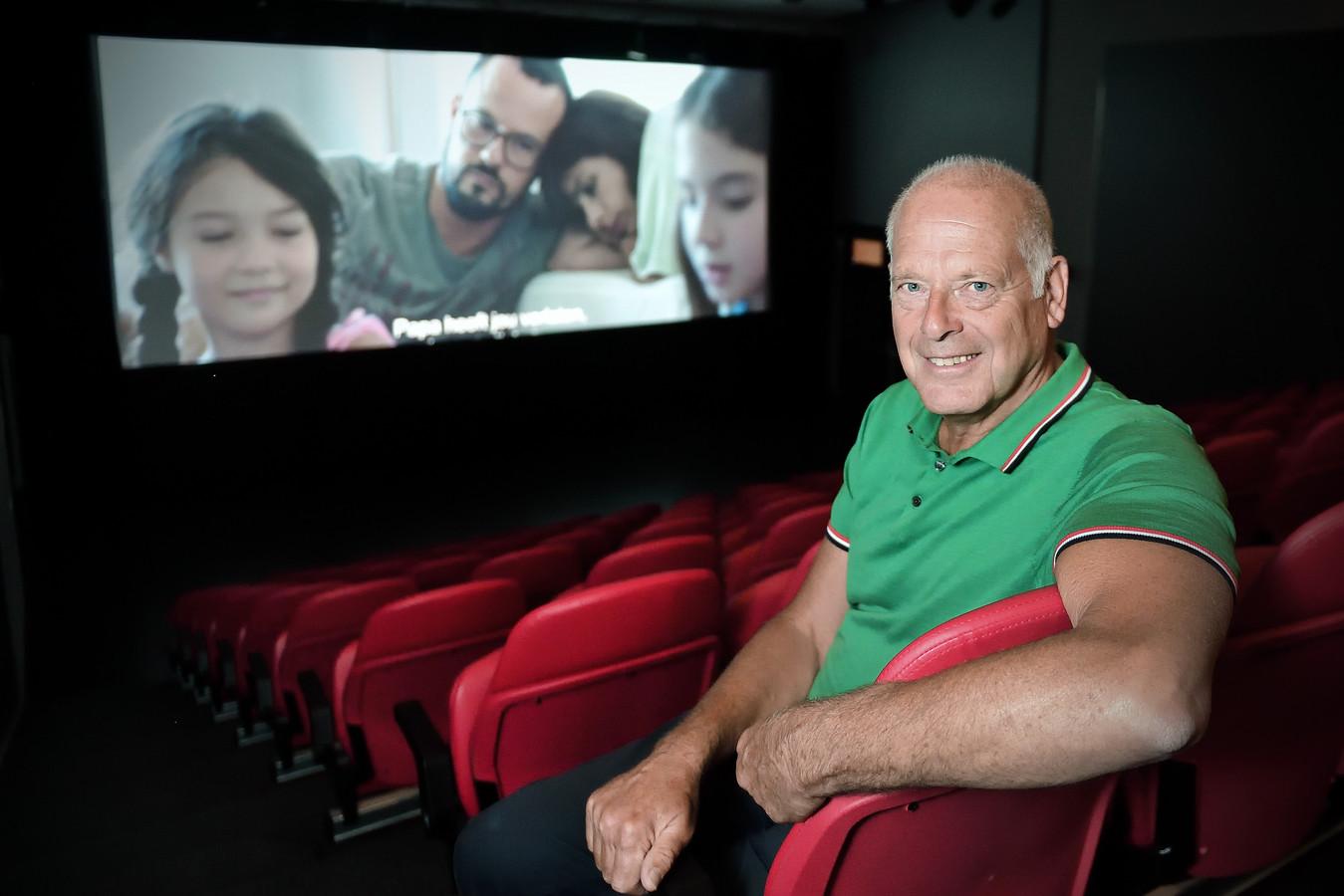 Ad Uijtdewillige van filmtheater Fanfare verwacht dit jaar de 60.000e bezoeker.