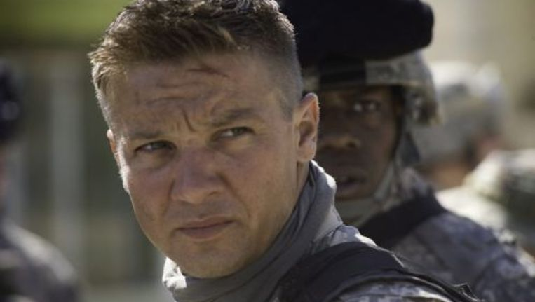 De Amerikaanse acteur Jeremy Renner in The Hurt Locker. Foto ANP Beeld
