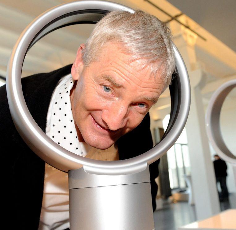 Van stofzuiger zonder zak over ventilator zonder wieken naar auto zonder uitstoot: James Dyson belooft een radicaal andere elektrische auto.