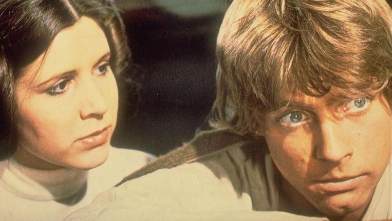Bij Star Wars: A New Hope wordt in het concertgebouw live de soundtrack gespeeld Beeld ANP