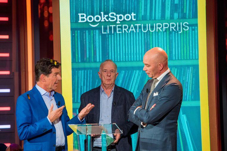De BookSpot Literatuurprijs wordt vanaf dit jaar opgesplitst in twee bekroningen, fictie en non-fictie, allebei goed voor 50.000 euro. Beeld ANP